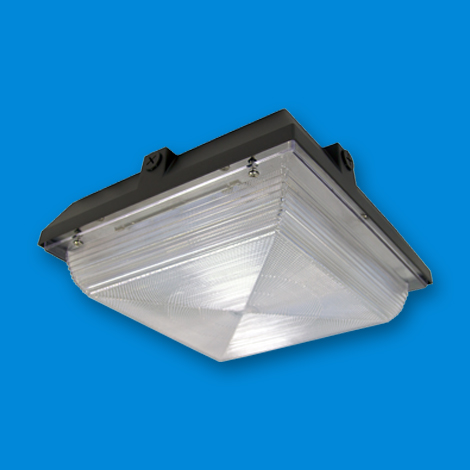 LED Canopy Lighting LED lighting fixture & CCLM 4500L Commerial Canopy LED