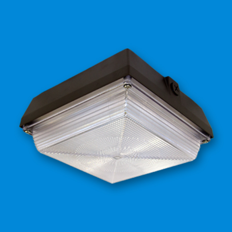 LED Canopy Lighting, LED lighting fixture