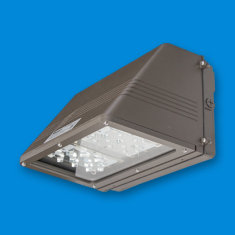 FCW Medium, LED lighting fixture for wall mount LED, outside LED, exterior LED lights, LED bulbs, led floodlight, electric and utility poles.