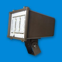 LFL Large, LED lighting fixture, LED Flood Light, outside LED, exterior LED lights, LED bulbs, led floodlight, electric and utility poles.