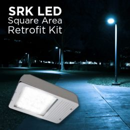 SRK LED Shoe Box, LED square area light retrofit kit, LED lighting fixture