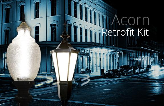 Decorative Post Top LED Retrofit Kit Solution!