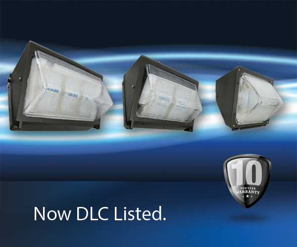 DLC Listed LED Wall Packs