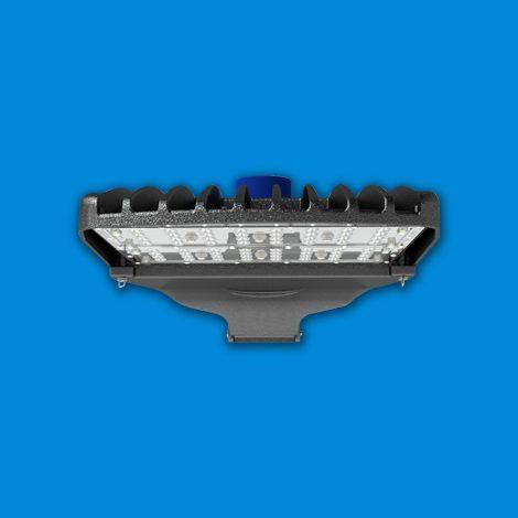 Viento Medium | Area & Site Lighting | Parking Lot Light | Shown With Optional Twistlock Receptacle