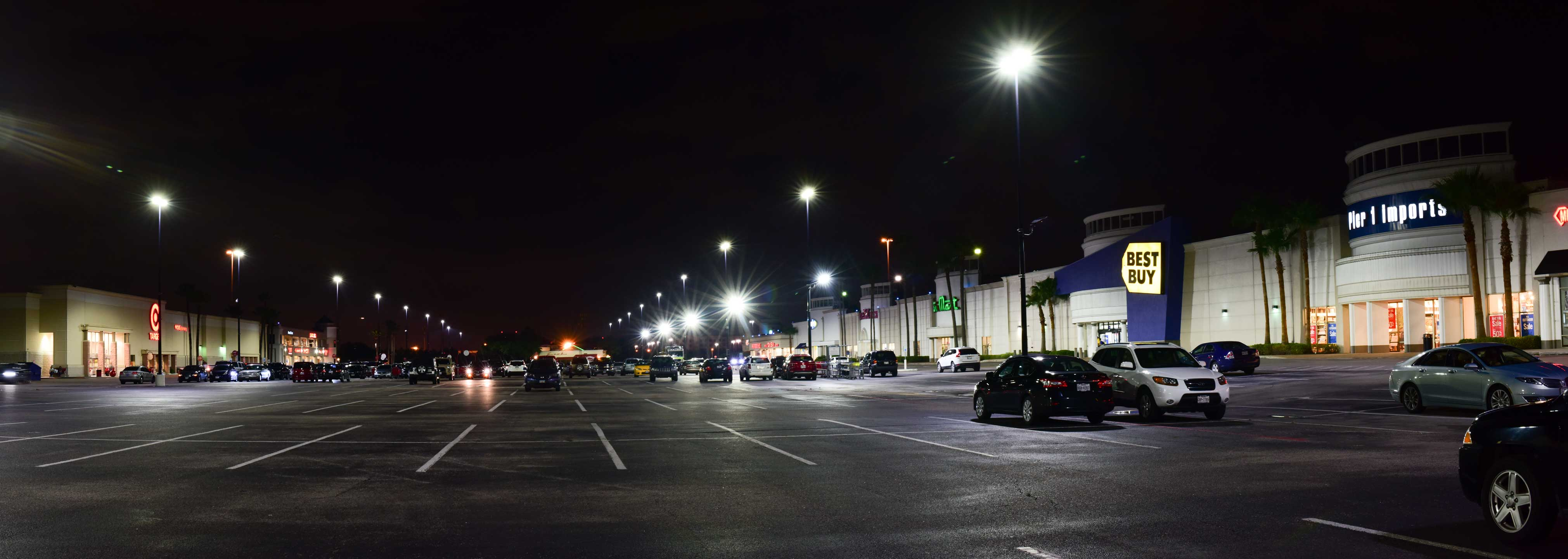 work at parking lights in img dark lot light new facilities tags lighting after iittoday news street the led