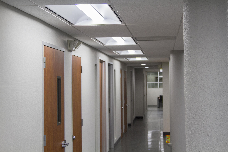 Alinea Led Bathroom Vanity Light: Recessed LED With Air Return