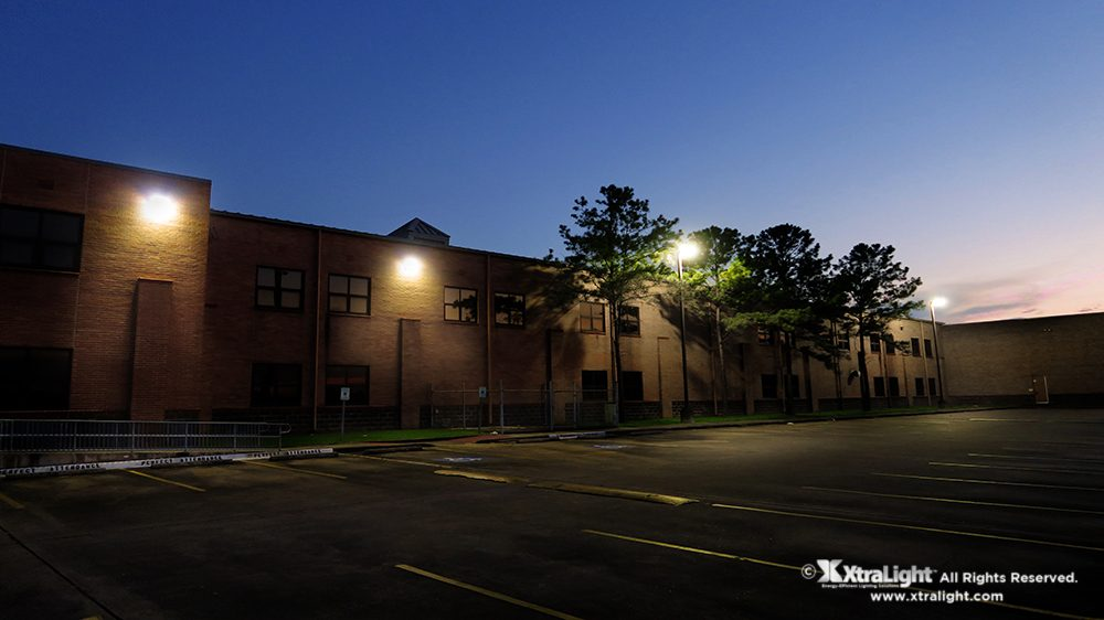 High School Exterior Building