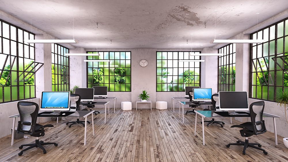 Open Office with Vesica 4 ft.