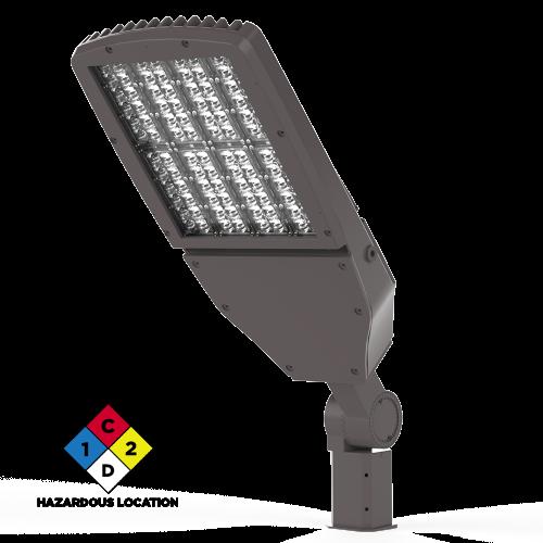 Viento Flood Light Large LED Hazardous Location Isometric View Xtralight Manufacturing, LTD.