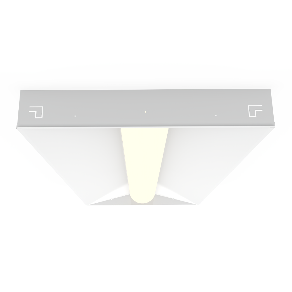 Low Profile Recessed Troffer Tunable White LED (LPR)