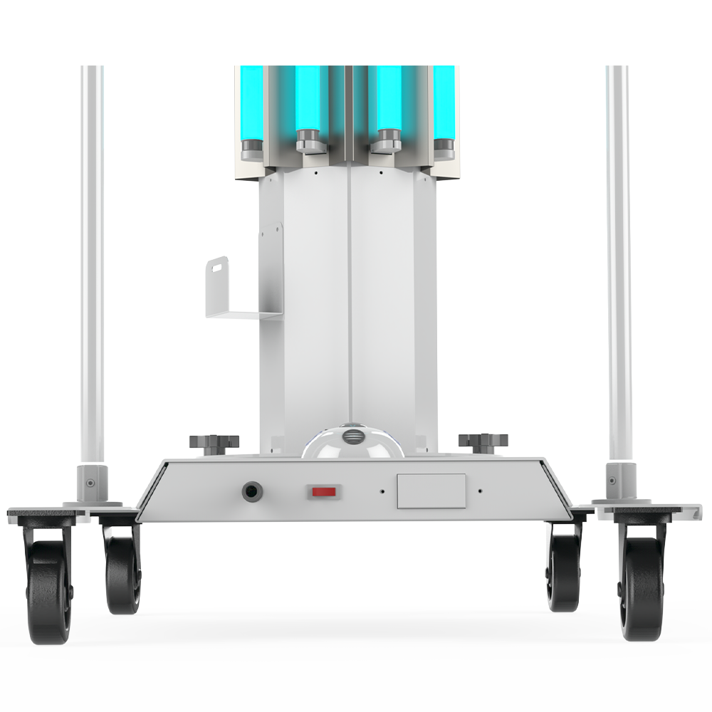 UVC Mobile Disinfection System Lower Section XtraLight Manufacturing, LTD.
