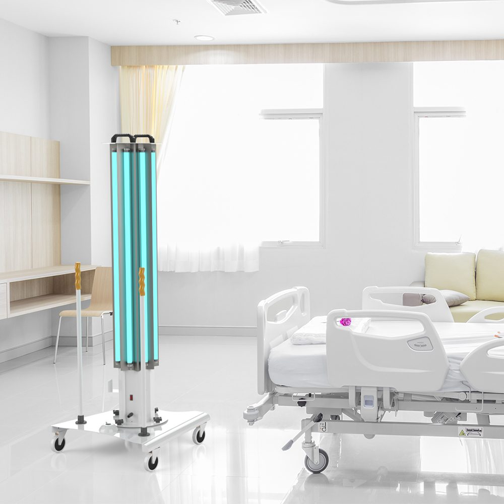 UVC-Mobile High Power Ultraviolet Disinfection System For Healthcare and Hospitals XtraLight Manufacturing, LTD.