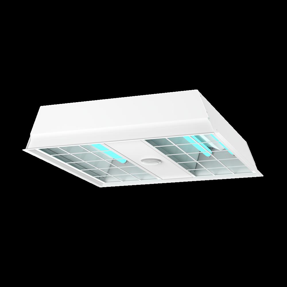 UVC Troffer 2x2 Isometric View XtraLight Manufacturing, LTD.
