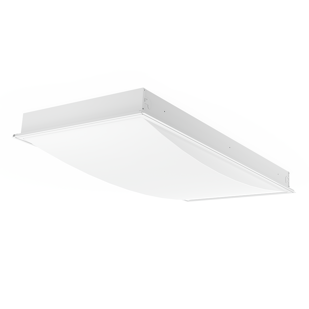 Vigor Convex Lens Tamper Proof LED Troffer