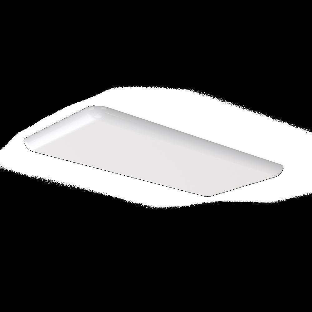 Vigor Floating Lens Tamper Proof LED Troffer