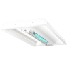 UVC 2x4 Indirect Hybrid Troffer Isometric View XtraLight Manufacturing, LTD.